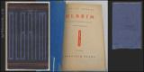 OLBŘÍM. 1928. Obálka a úprava JOSEF ČAPEK. Aventinum sv. 194. /jc/