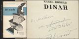 DINAH. 1928. Podpis autora. Fotomontážní obálka a typo KAREL TEIGE.