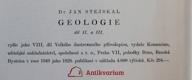 Velký ilustrovaný přírodopis všech tří říší. VII, Geologie. Díl I., Úvod, dějiny geologie, stavba země a vnitrozemská energie