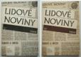 Lidové noviny 1988 + 1989