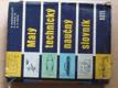 Malý technický naučný slovník (1959)