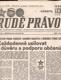 NOVINOVÝ VÝTISK RUDÉ PRÁVO 16. ZÁŘÍ 1989