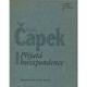 Karel Čapek / Přijatá korespondence