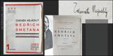BEDŘICH SMETANA. 1924. ARS sv. 1.  Podpis autora. /hudba/