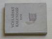 Včelařský kalendář 1958