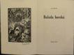 Balada horská (podpis)