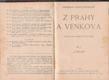 Z Prahy a venkova od Ladislav Stroupežnický