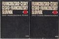 Francouzsko-český česko-francouzský slovník (2 svazky - část francouzsko-česká a část česko-francouzská)