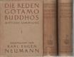 Die reden Gotamo Buddhos I., II. a III.