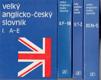 Velký anglicko - český slovník I.-IV.