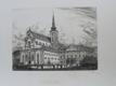 Kostel svatého Tomáše s býv. místodržitelstvím (1928) Brno