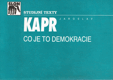 Jaroslav Kapr - Co je to demokracie