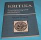 Kritika fenomenologické sociologie