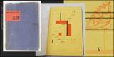 ZLOM. 1928. 4 celostr. typografické kompozice KAREL TEIGE. Original wrappers. /q/