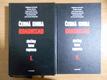 Černá kniha komunismu I+II
