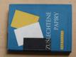 Zušlechtěné papíry (SNTL 1955)