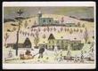 Kolorovaná kresba, prošlá poštou 1979