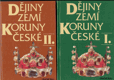 Dějiny zemí koruny české (2 svazky)