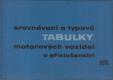 Srovnávací a typové tabulky motorových vozidel a příslušenství