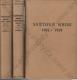 Světová krise 1911 - 1918; 3 svazky
