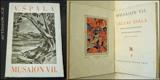 Špála - Musaion VII. VÁCLAV ŠPÁLA. 1927. Text Josef Kodíček. Aventinum. Vytiskli Kryl a Scott