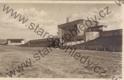 Svatováclavské dni Orelstva v Praze 1929 - Stadion před úpravou pro sdo. hudební pavilon a boční brána nástupní
