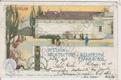 Výstava architektůry a inženýrství, Praha 1898, barevná, DA
