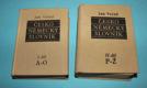 Česko německý slovník I. a II.díl