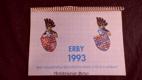 Kalendář 1993 - Erby význačných šlechtických rodů z Čech a Moravy