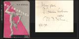ROZMAŘILCI. 1930. Nové cíle. Podpis autora. Obálka V. HRSKA.