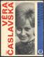 VĚRA ČÁSLAVSKÁ. 1968. 1. vyd. Obálka JIŘÍ RATHOUSKÝ. /sport/