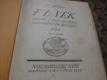 F. L. VĚK DÍL I.,II.,III.,IV.,V.