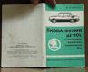 Škoda 1000 MB až 110 L nejdůležitější amatérsky vyměnitelné díly