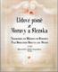 Lidové písně z Moravy a Slezska
