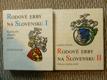 Rodové erby na Slovensku I., II.