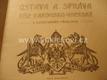 Ústava a správa říše Rakousko-uherské SEMERÁD 1903