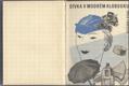 Dívka v modrém klobouku