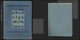 HOFFMEISTER; ADOLF: ABECEDA LÁSKY. - 1926. Edice Mladí autoři. - 8847442121