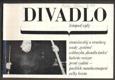 DIVADLO. Listopad. 1967. (18. ročník). - Obálka LIBOR FÁRA. Foto RICHARD VALENTA; NOVOTNÝ; SVOBODA; VALENTA. - 8847229065