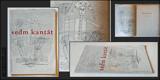 KOLÁŘ; JIŘÍ: SEDM KANTÁT. - 1945. 1. vyd. Ilustrace FRANTIŠEK HUDEČEK; úprava JAN KOTÍK. /Skupina 42/poesie/ - 8846805257