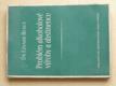 Problém alkoholové výroby a abstinence (1947)
