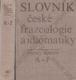 Slovník české frazeologie a idiomatiky, 2 svazky