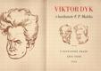 Viktor Dyk v karikatuře F. P. Malého
