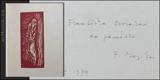 Muzika - ŠMEJKAL, FRANTIŠEK: FRANTIŠEK MUZIKA. - 1966. Podpis autora. - 9350479497