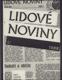 Lidové noviny I (1988) a II (1989)
