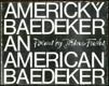 Americký baedeker, An American Baedeker