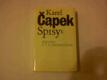 Čapek Karel - Spisy