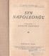 Syn Napoleonův od Clara Tschudi