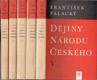 Palacký - Dějiny národu českého vč. papír. pouzdra (5. dílů)