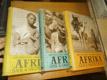 Afrika snů a skutečností - J. Hanzelka - M. Zikmund -3 svazky